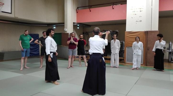 escrime ancienne aikido 1 - tanto