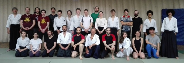 escrime ancienne aikido 3 - photo de groupe